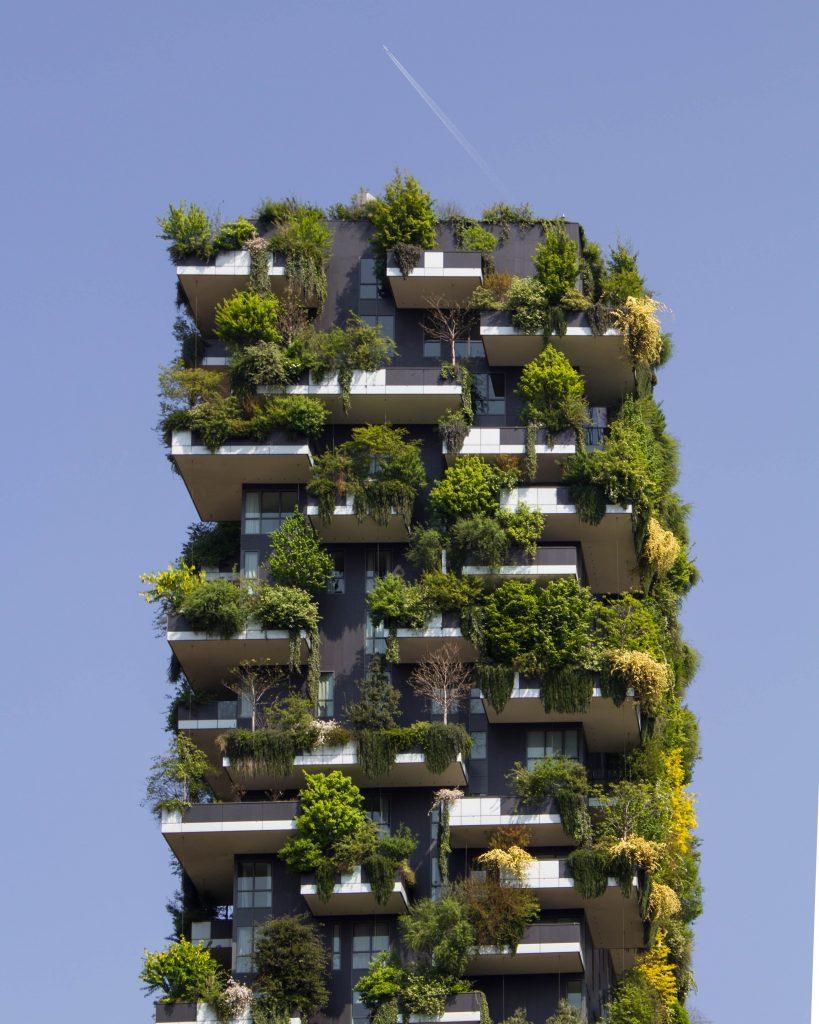Un immeuble écologique et vert
